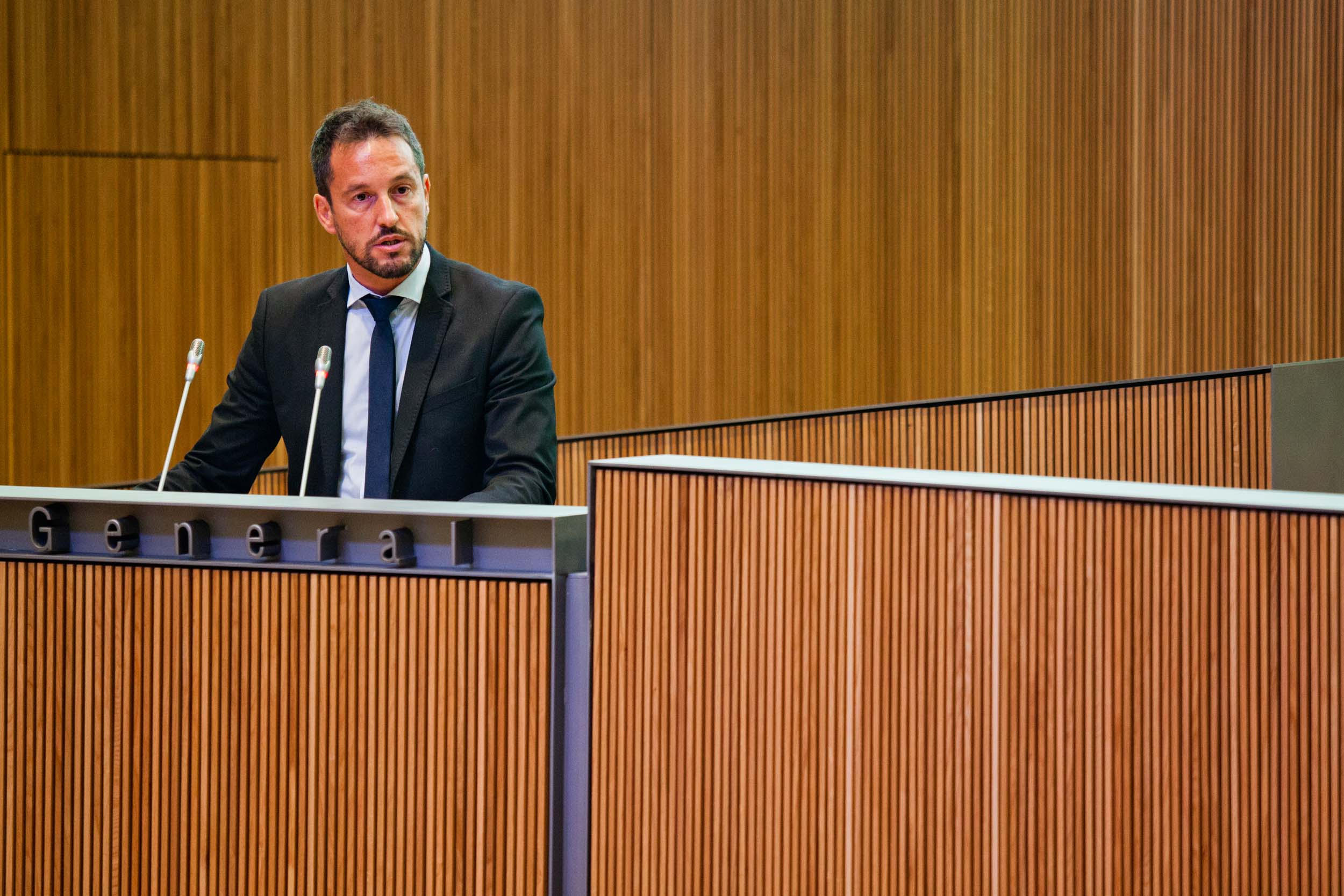 Intervenció de Pere López, president del Grup Parlamentari Mixt