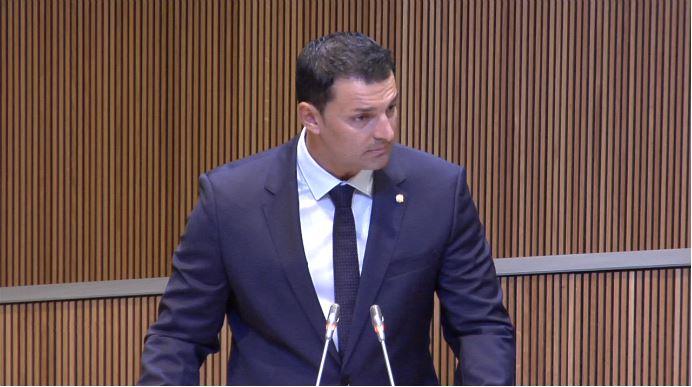 Intervenció del Sr. Jordi Gallardo, president del Grup Parlamentari Liberal