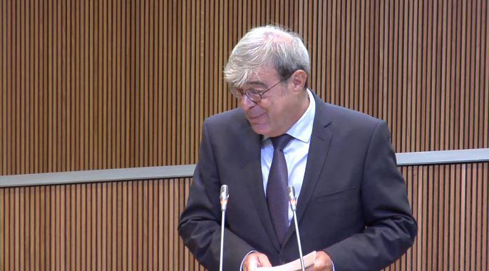 Intervenció del Sr. Ladislau Baró, president del Grup Parlamentari Demòcrata