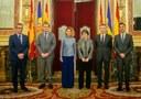La Síndica General es reuneix amb les Presidentes del Congrés dels Diputats i el Senat espanyol