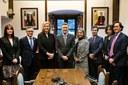 Reunió del Grup d'amistat informal del Parlament Europeu i el Consell General
