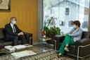 Trobada amb l'ambaixador de França, Jean-Claude Tribolet