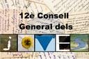 Exposició dels cartells presentats al concurs del 12è Consell General dels Joves.