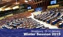 Sessió plenària de l'Assemblea Parlamentària del Consell d'Europa (APCE).