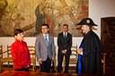 Visita de l'Associació per a la Promoció de les Relacions amb la Xina, 4 de desembre del 2014