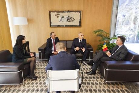 Visita de l'Excm. Sr. Altai Efendiev, ambaixador de la República d'Azerbaitjan, 5-11-2015