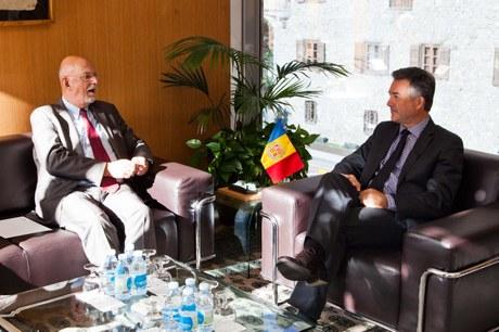 visita del Sr. Hans Dahlgren, Secretari d'Estat pels Afers de la UE de Suècia, 21-10-2015