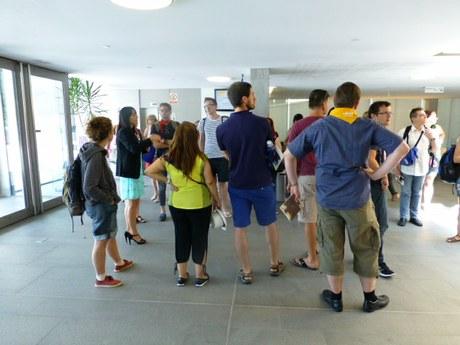 Visita del XIV campus de la llengua catalana