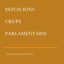 Dotacions dels Grups Parlamentaris