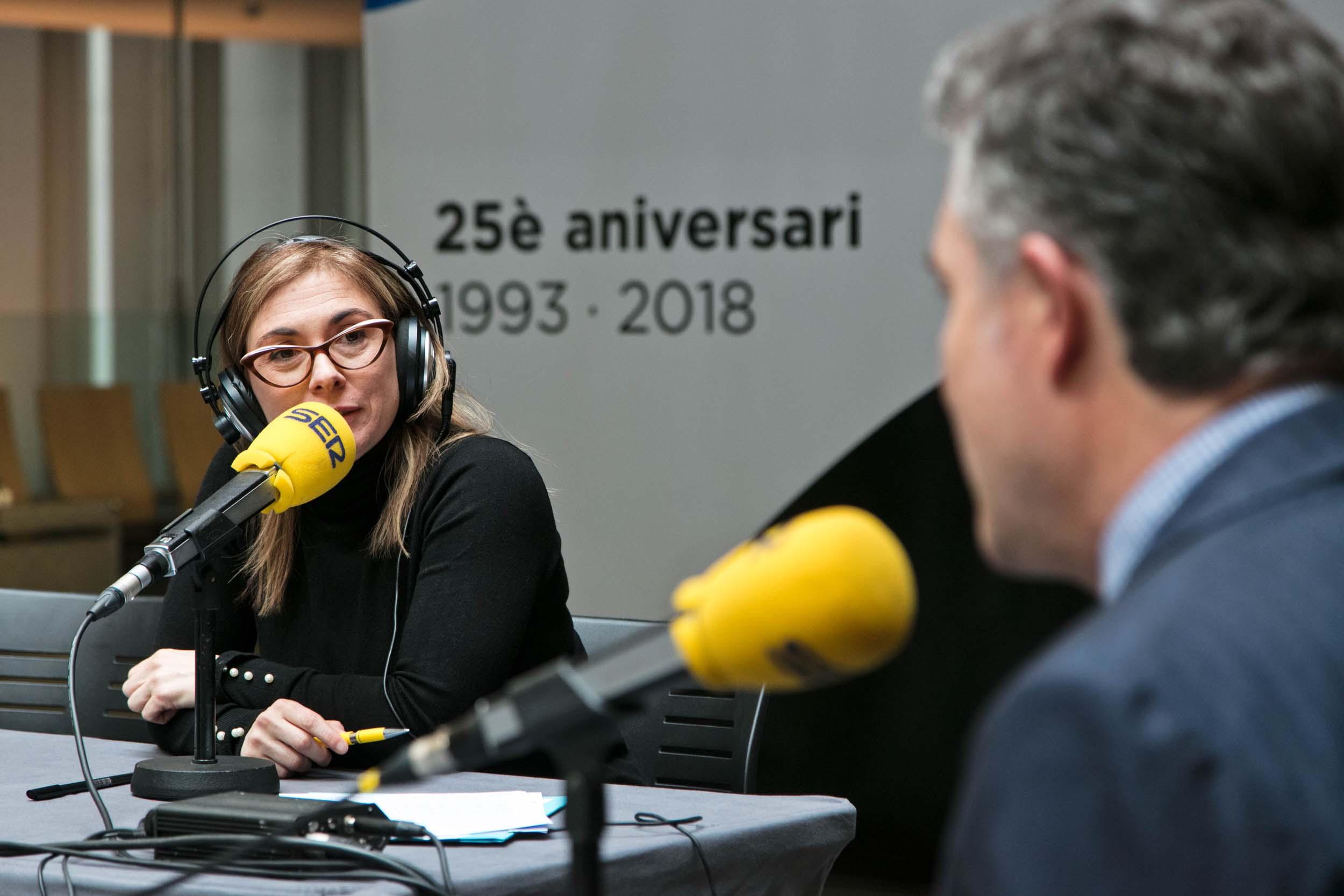 Programa 'Hora Andorra- Especial Constitució' des del vestíbul del Consell General